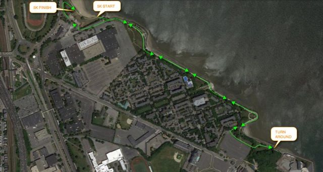 Luv Run Course Map